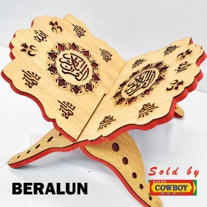 Book Stand For Quran / Rehal Kayu Bercorak