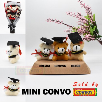 Convo Bear Toy Mini Bear Small Size Doll Suitable for Bouquet Gift DIY Plush Doll Kids Teddy Bear Plush Toy Cut